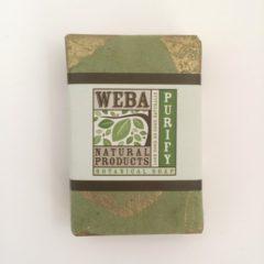 WEBA Natural Products Lemongrass Bar soap