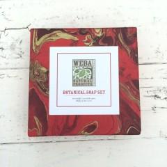 WEBA Natural Products Six-Soap Gift Set